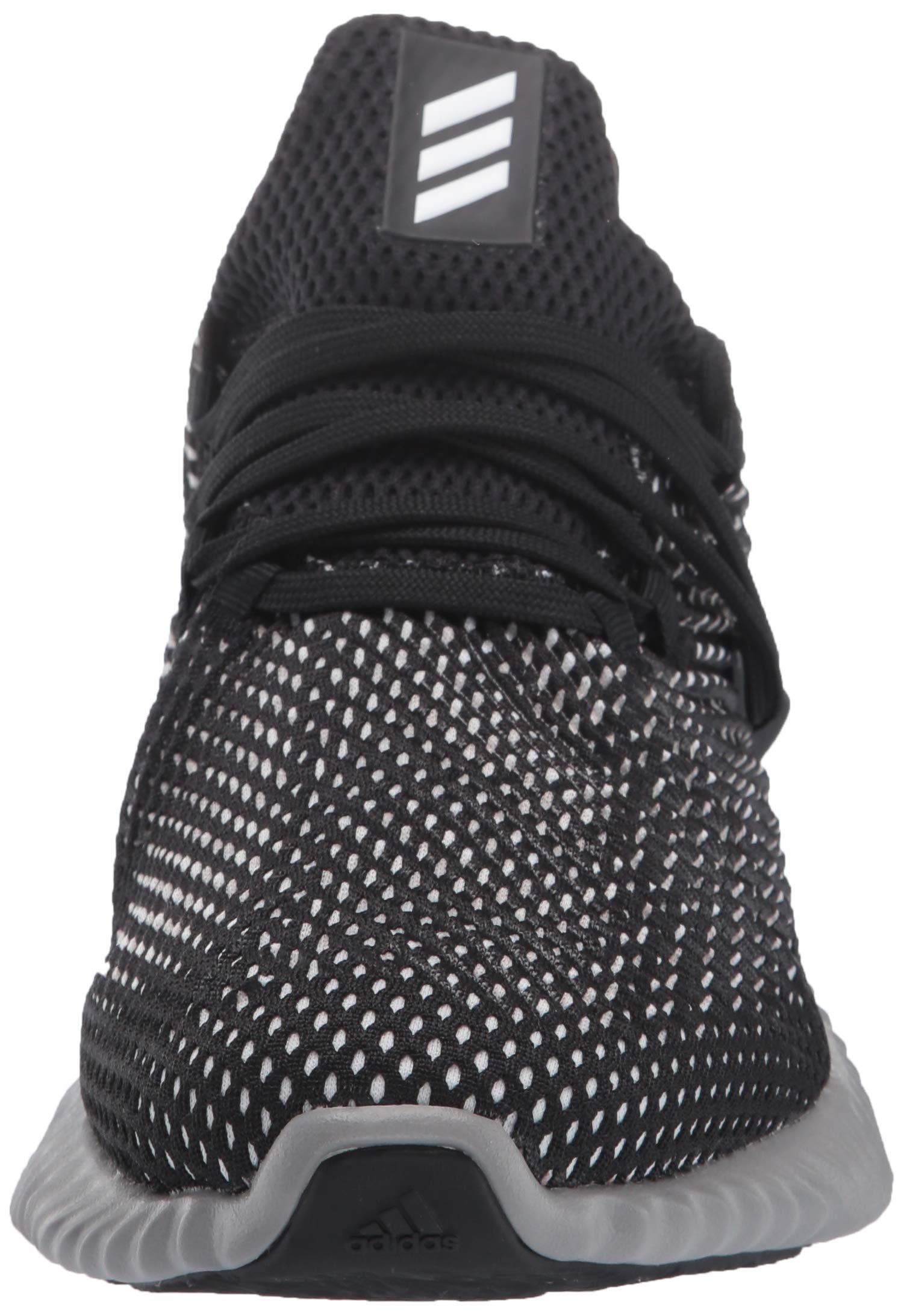 Adidas Kids Alphabounce Instinct, Black/White/Grey, 1 M US Little Kid by adidas (Image #4)