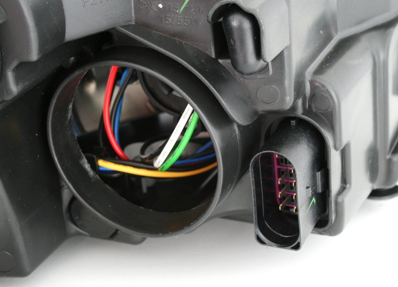 AD Tuning GmbH /& Co KG DEPO Scheinwerfer Linke Seite Fahrerseite H7 H15 LWR Stellmotor