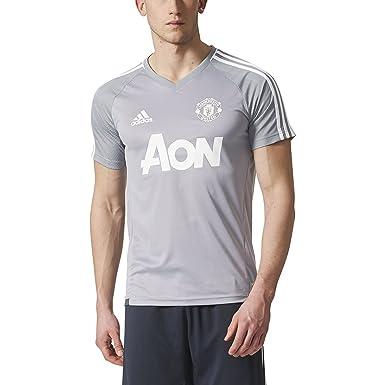best website f9d46 b64a0 adidas Men's Manchester United Short Sleeve Training Jersey