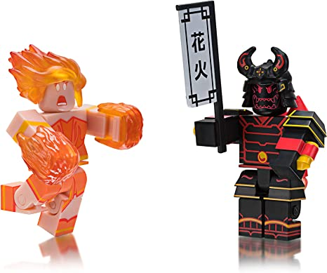 Roblox Celebrity Collection Heroes of Robloxia: Ember & Midnight Shogun Game Pack