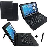 """Qwertz Tastatur Tablet Tasche für Acer Iconia W510 10.1"""" mit Standfunktion - Deutsche Tastenbelegung 10 Zoll"""