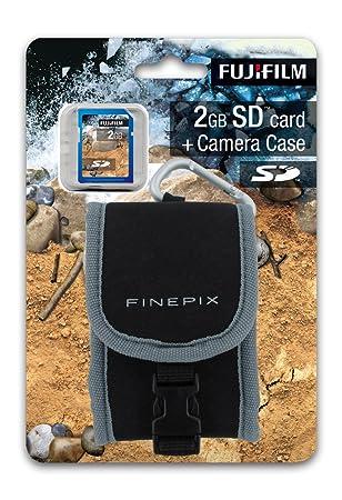 Fujifilm XP30/XP10/Z33WP - Funda y Tarjeta SD 2 GB: Amazon ...