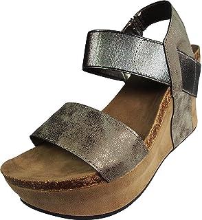 77bf7fe753 Amazon.com   Pierre Dumas Hester-12 Women's Vegan Leather Double ...
