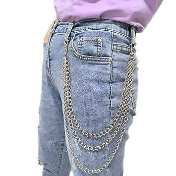 Amazon.com: Honbay - Cadena unisex para pantalón y pantalón ...