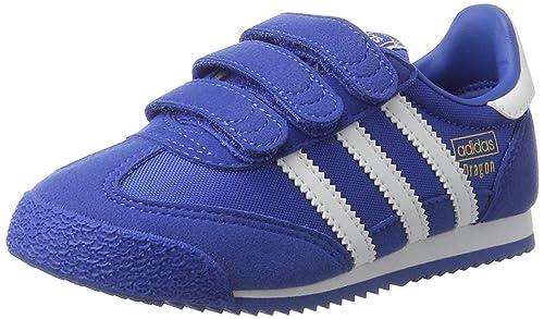 sports shoes 86529 05d04 adidas Original Kids Dragon OG CF C, BlueFTWHITEBlue, 2 US