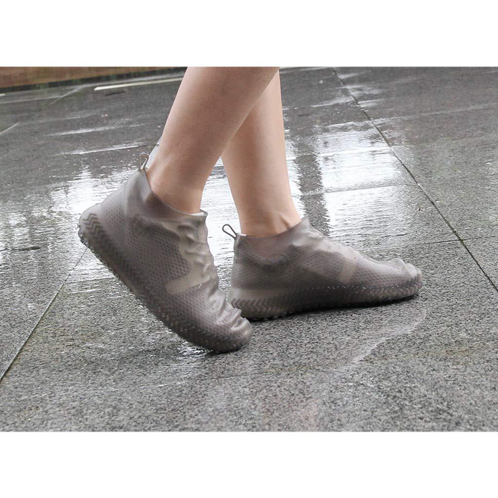 Amazon.com: Fundas de silicona para botas de lluvia ...