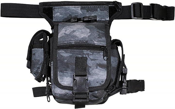 Hip Bag Hüfttasche Gürteltasche Bauchtasche Security Bein Tasche Oliv Grün