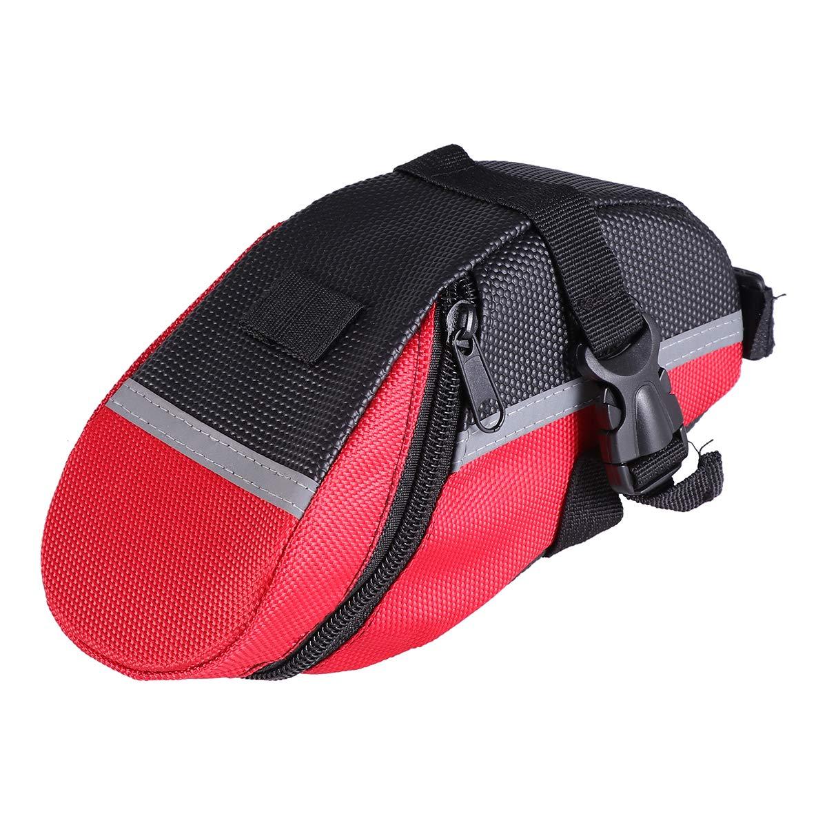 rot LIOOBO wasserdichtes Fahrrad Fahrrad R/ücksitz R/ückentasche tragbare Fahrrad Satteltasche Fahrrad Werkzeugtaschen Tasche