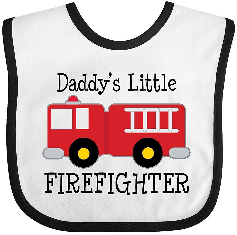 My Dads a Firefighter Baby Bib Christopher Macadam