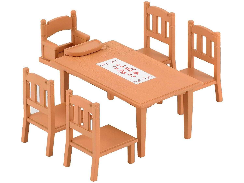 Sylvanian Families 2933 - Mesa y sillas de comedor [Importado de Alemania] 4506 B004P1IPLG