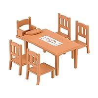 Sylvanian Families - 2933 - Table de Repas - Poupées et Accessoires - Sylvanian