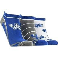 TCK Kentucky Wildcats No Show Socks Full Field 3 Pack