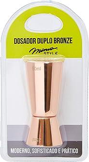 Dosador Duplo Mimo Style Bronze