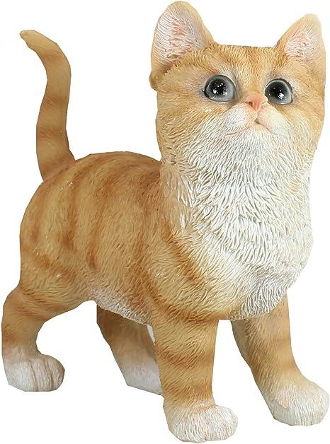 Schlafende Katzen Material Polyresin Gartenfiguren Dekoration Katzenfiguren Neu
