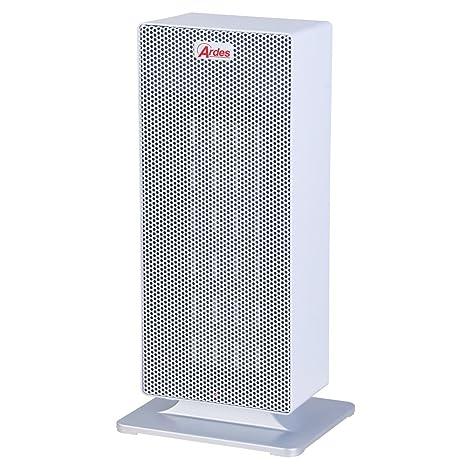 Ardes 4P02 Blanco 2000W - Calefactor (Cerámico, Piso, Blanco, Metal, 2000