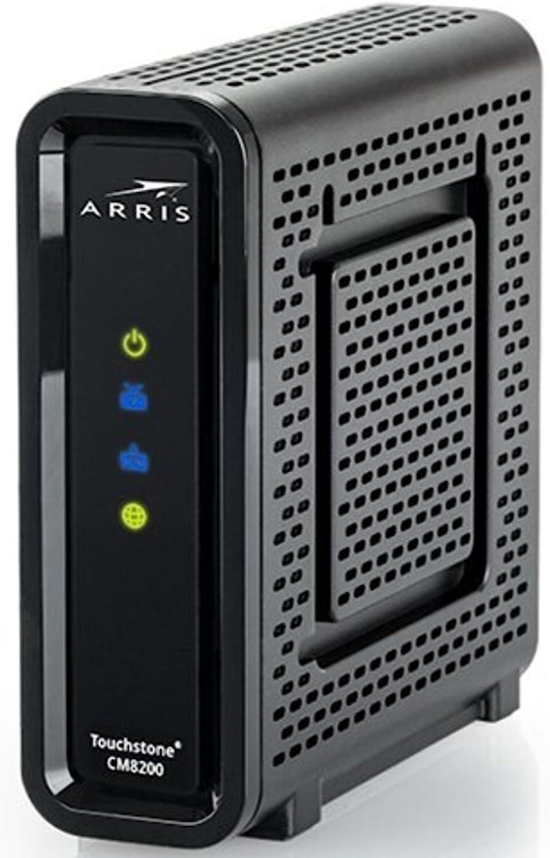 Arris Touchstone CM8200A DOCSIS 3.1 Ultra Fast Cable Modem 32X8 Gigabit (Black) 71Es1MLFGPLSL1500_