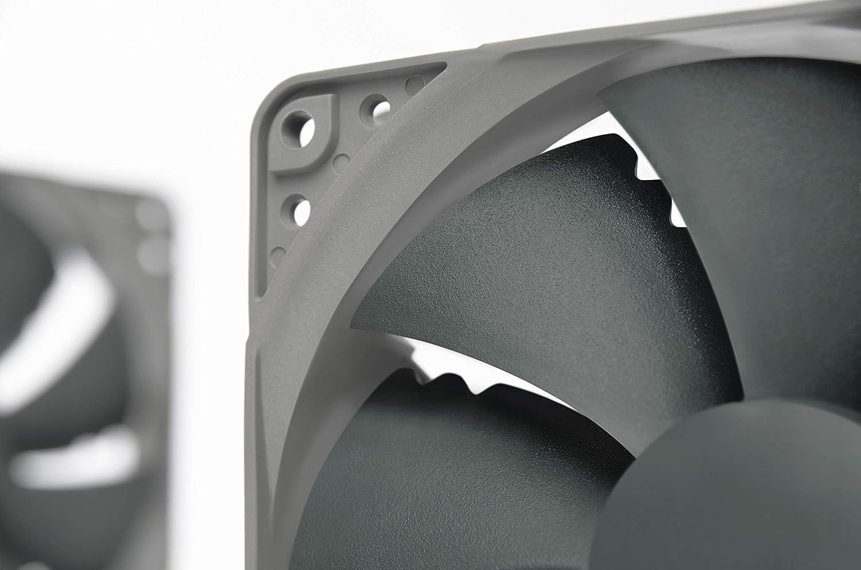 Ultra Quiet Silent Fan 120mm, Grey 900 RPM 3-Pin Noctua NF-P12 redux-900