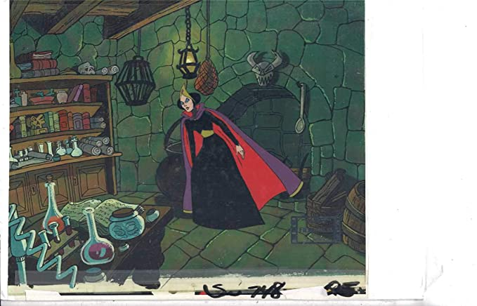 A Snow White Christmas.A Snow White Christmas Original Animation Production Cel At