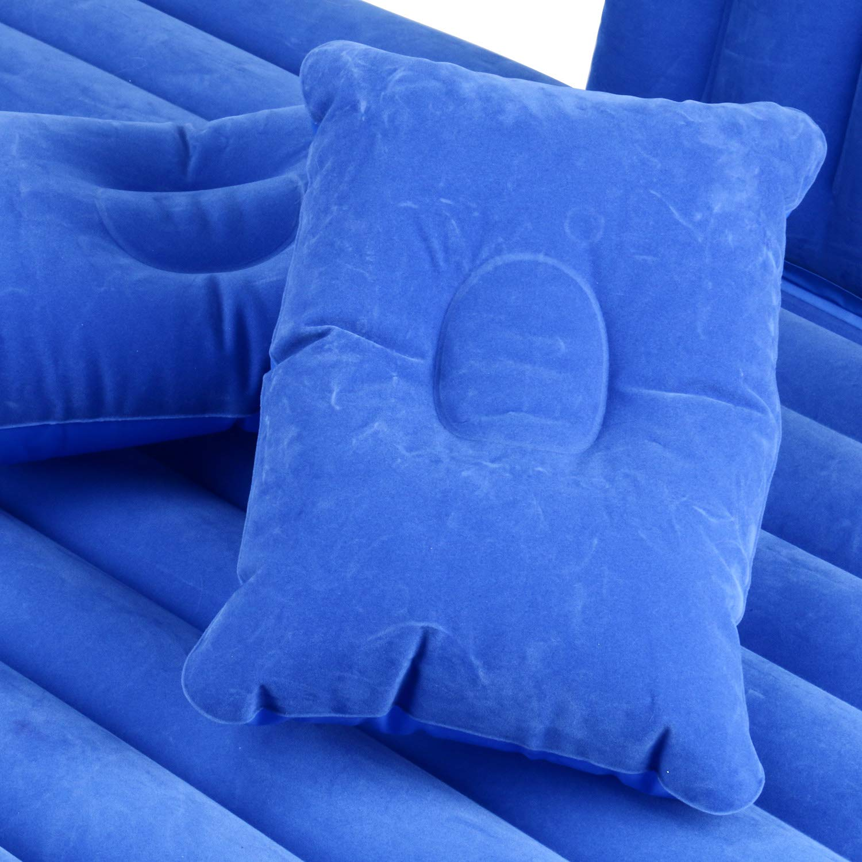 Amazon.com: yaetact coche colchón inflable cama hinchable ...