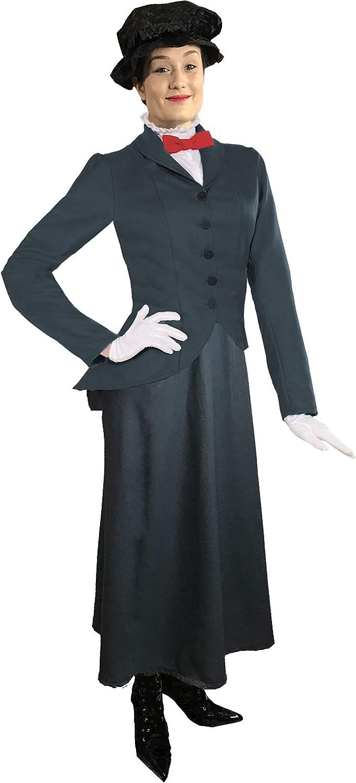 sowest Ladies Mary Poppins Victorian Nanny Fancy Dress Disfraz ...