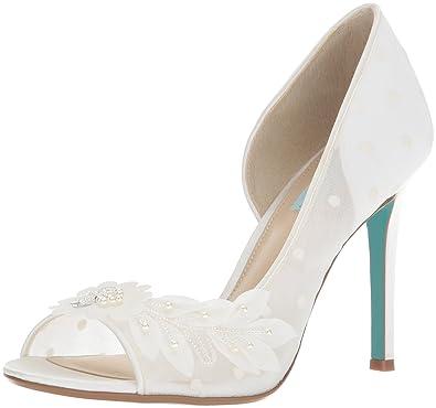 a88b4a9fde0 Amazon.com  Blue by Betsey Johnson Women s Sb-Anise Heeled Sandal  Shoes