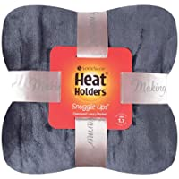 Heat Holders Snuggle Ups Oversized Luxury Thermal Throw-Blanket (Antique Silver)