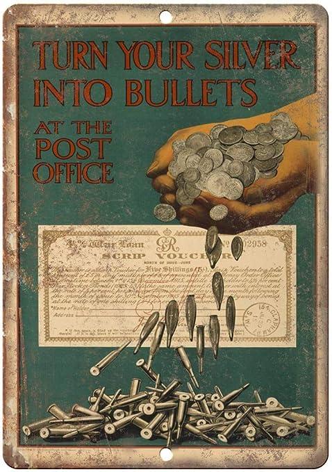 USA War Bonds Post Office Póster De Pared Metal Retro Placa ...