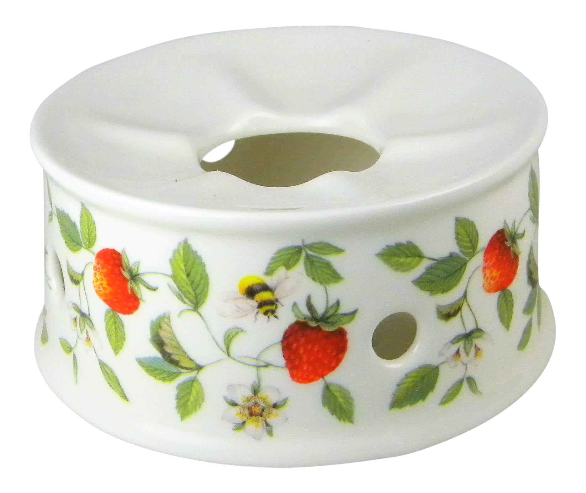 Roy Kirkham Alpine Strawberry Chintz Teapot Warmer Fine Bone China England by Roy Kirkham (Image #3)