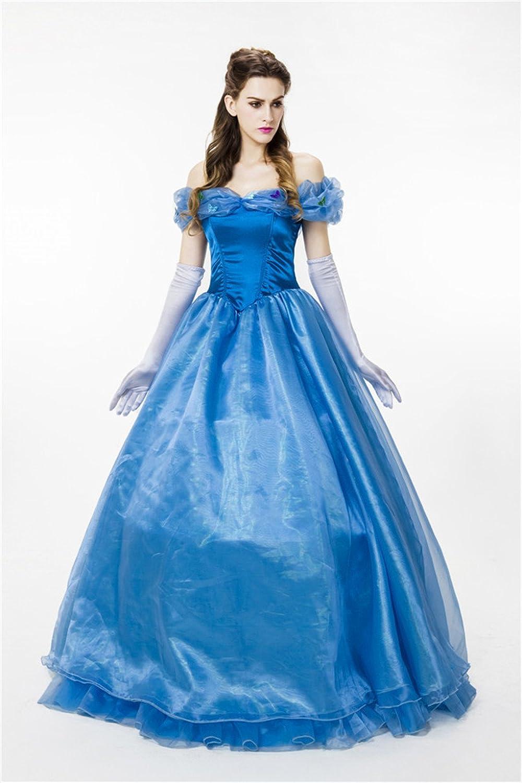 Amazon.com: Baju Women\'s Ball Gown Princess Cinderella Quinceanera ...