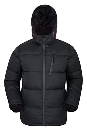 new product 3ee77 63867 Mountain Warehouse Frost Extreme Herren  Daunenjacke,wasserdichte,Gefütterte, Warme Winddichte, Winterjacke,  Steppjacke, Herrenjacke