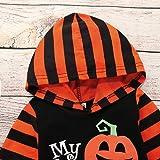 Newborn Boys Girls My 1st Halloween Pumpkin Hooded