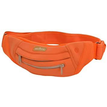 b4dfcbb6cc42 adidas Stella McCartney Womens Adjustable Velcro Waist Fanny Pack Bum Bag  Orange  Amazon.co.uk  Sports   Outdoors