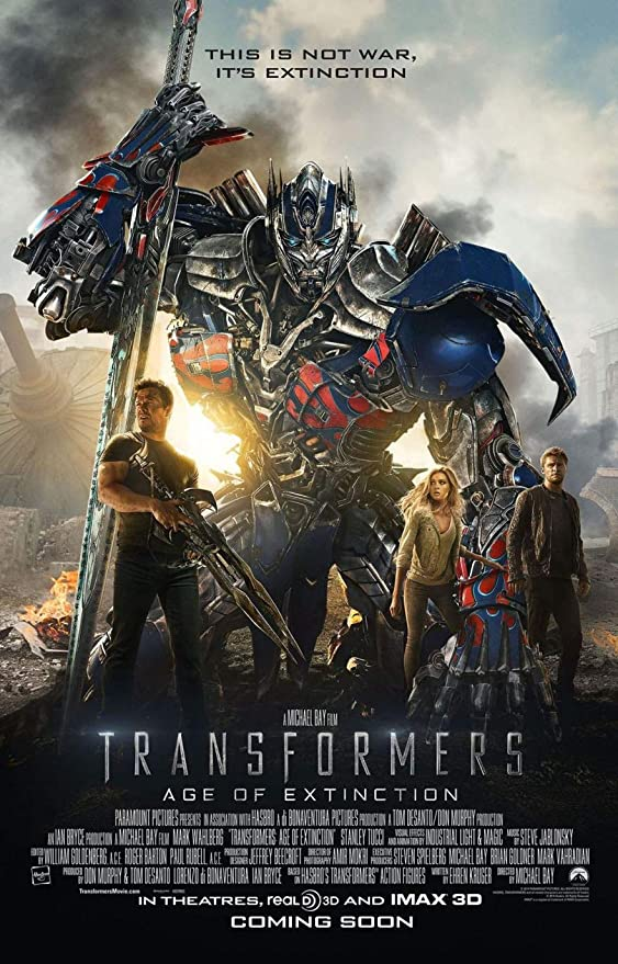 FIL528 Transformers The Last Knight Movie Poster Glossy Finish Posters USA