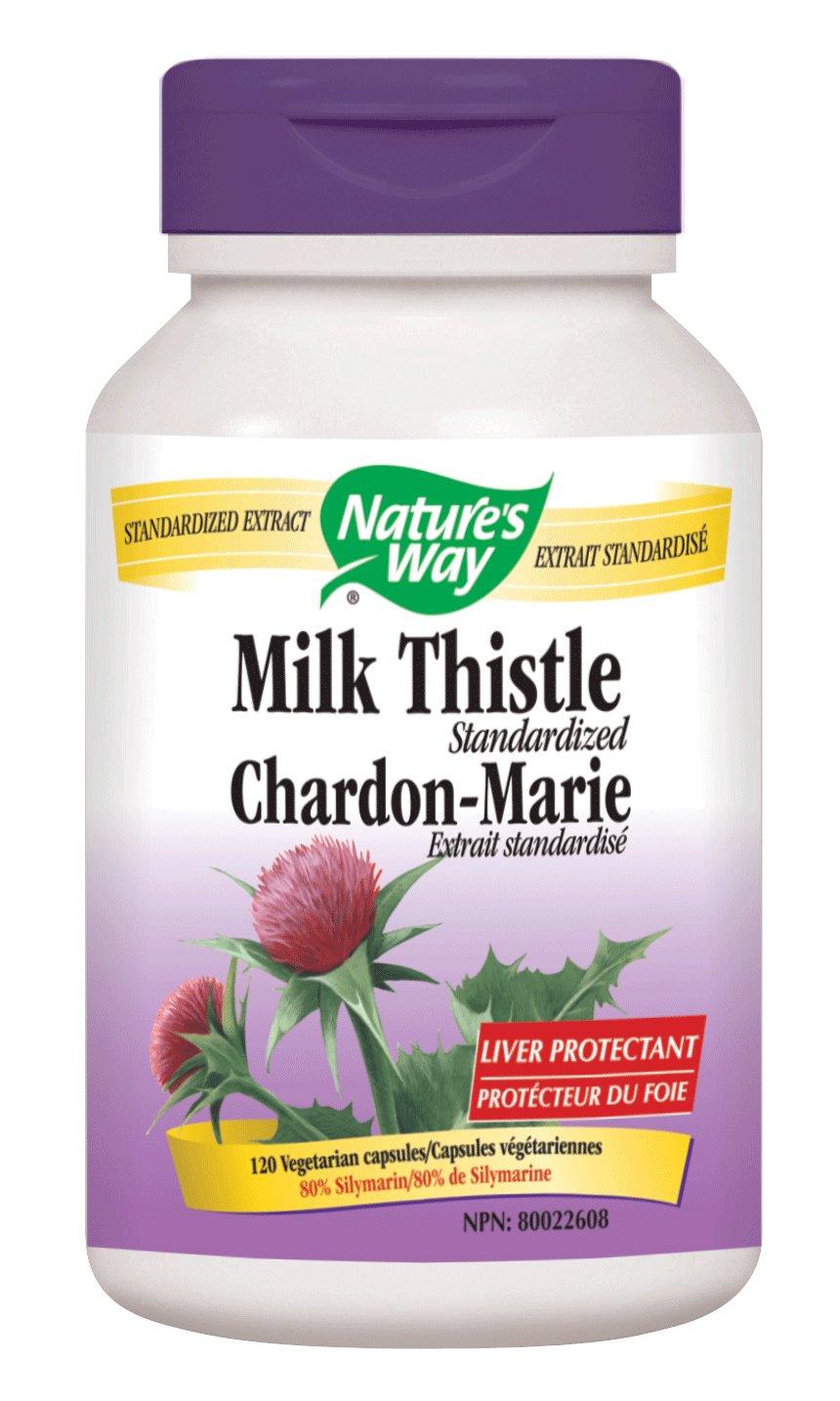 Nature S Way Milk Thistle Standardized  Vcaps