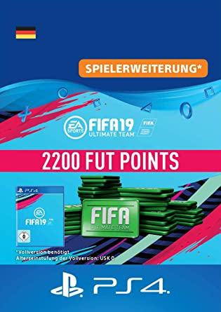 Fifa 19 Ultimate Team 2200 Fifa Points Ps4 Download Code