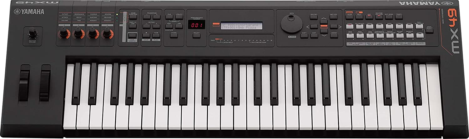 Yamaha MX49 Music Production Synthesizer, Black