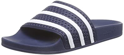 adidas Adilette, Men's Beach & Pool Shoes, Blue (AdiblueWhiteAdiblue