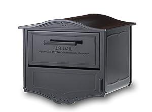 Architectural Mailboxes Geneva Locking Mailbox Black