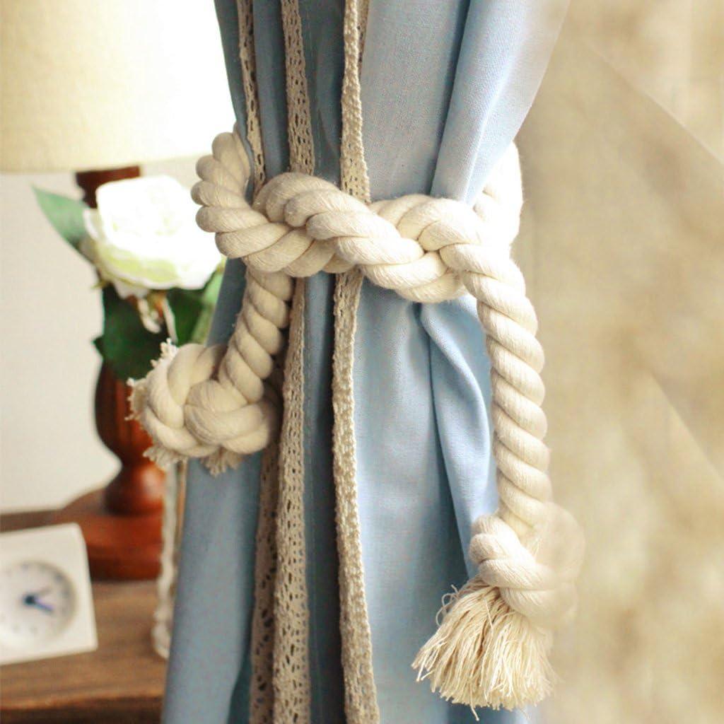 Cotton Curtain Rope Tiebacks