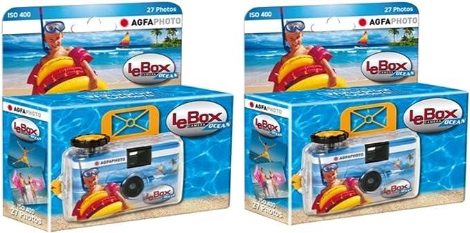 Agfaphoto Lebox Ocean Waterproof Single Use Camera Camera Photo