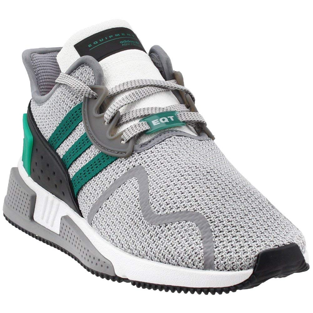 3a7ad196237b Galleon - Adidas EQT Cushion ADV Shoe Men s Running 9 Grey-Sub Green-White