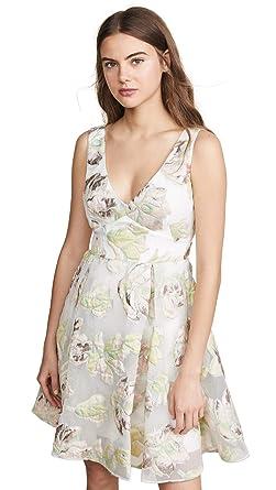 de5585c5 Marchesa Notte Women's Metallic Cocktail Dress at Amazon Women's ...