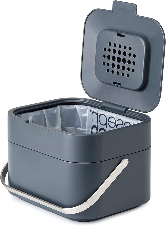 Joseph Joseph Stack 4 - Cubo de basura, Gris