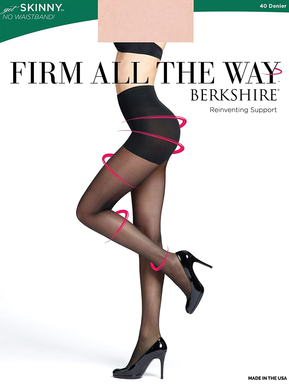 Berkshire Women's Firm All The Way The Skinny Pantyhose 5050 Berkshire Women' s Hosiery