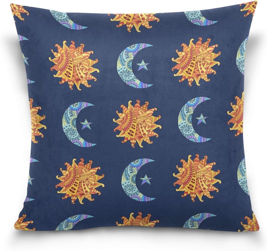 When The Sun Meets The Moon Pillow Case