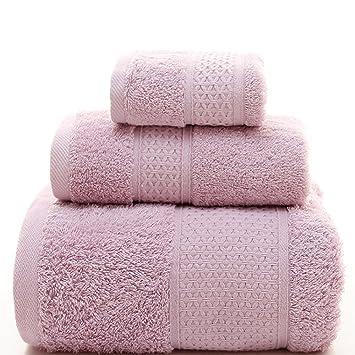 Toalla de Baño 100% Algodón 3 Piezas de Secado Rápido para Baño Toallas absorbentes de