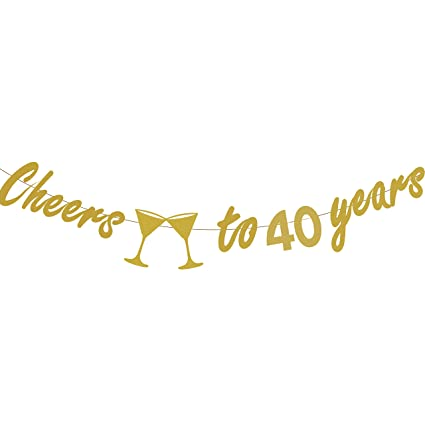 Image Unavailable Not Available For Color 40th BIRTHDAY PARTY DECORATIONS