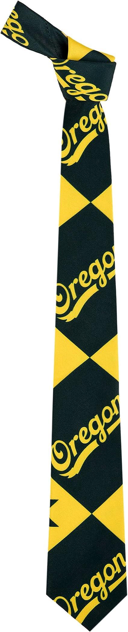 NCAA College Team Mens Repeat Logo Ugly Printed Tie
