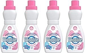 Woolite For All Delicates Laundry Detergent 16 Ounce (Pack of 4)