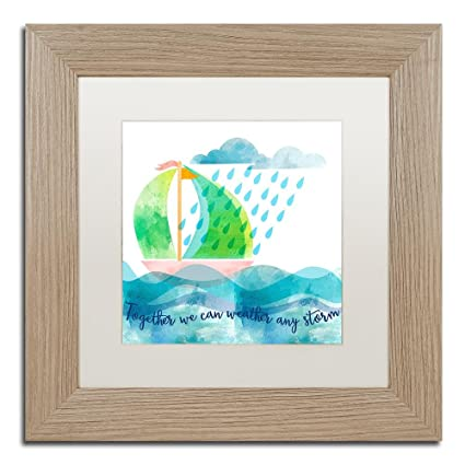 Trademark Fine Art Weather Any Storm by Lisa Powell Braun Wall Art ...